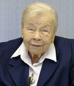 In loving memory of Sister Mary Marjorie Packer, CSC
