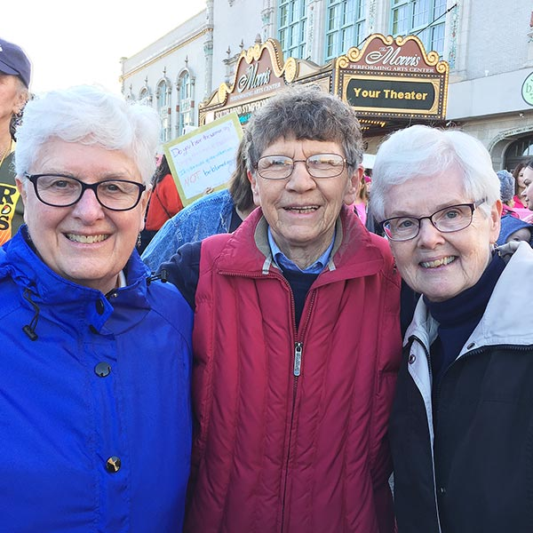 Sisters join march in South Bend, Indiana